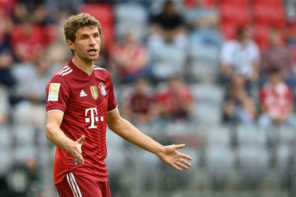 Germany took the lead in Group J after narrowly beating Romania 2-1 in where Thomas Muller came off the bench to score the winner.